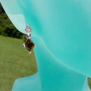 Lia Sophia Pierced Gemstone Earrings